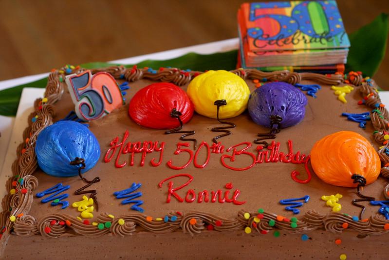 Ron's Birthday Cake