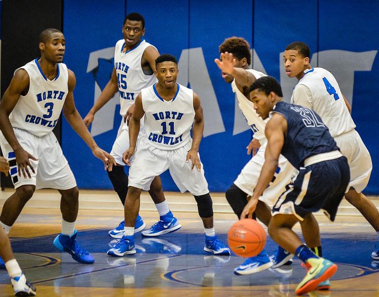 Basketball Boys Varsity vs  Lamar 01-21-14-13