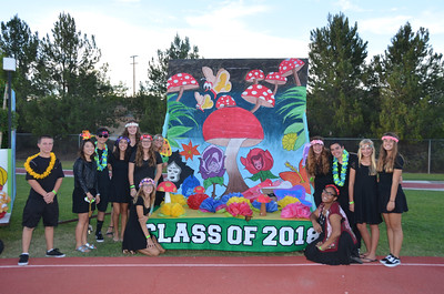 Homecoming Court and Floats