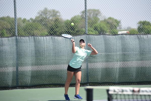 Girls Tennis at Waverly Invite