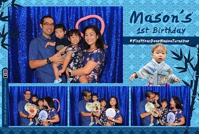 Mason's 1st Birthday (LED Dazzle Photo Booth)