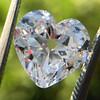 3.47ct Antique Heart Shaped Diamond GIA F SI2 11