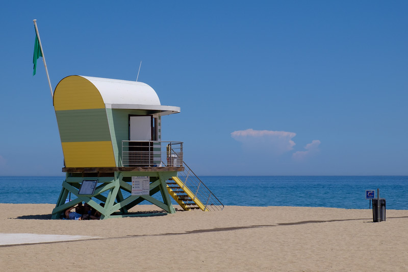 A week's holiday based at St Nazaire near Perpignan, in southern France.  The beach at Leucate on Tuesday 21 July 2015.