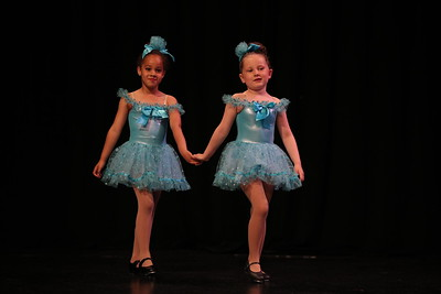 Duet in Teal Dresses