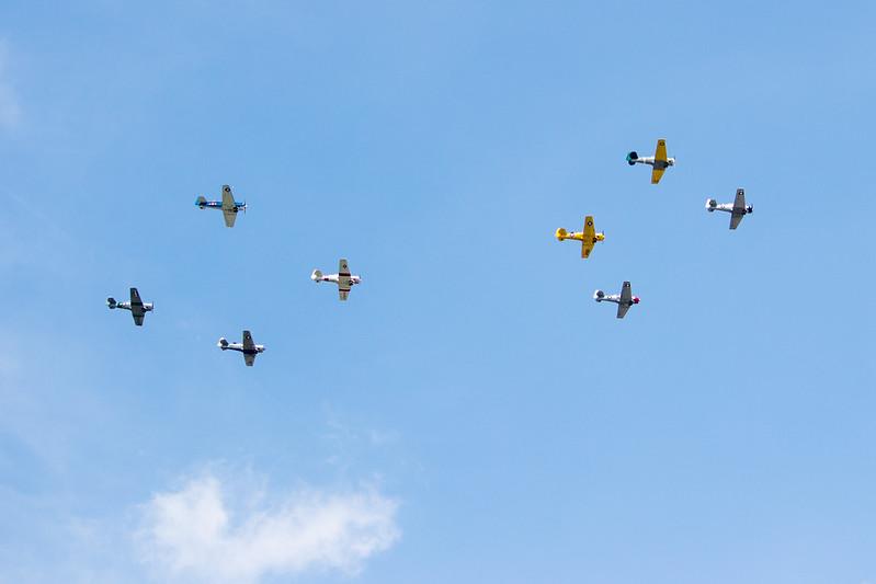 70th Anniversary of V.E. Day - Arsenal of Democracy Flyover