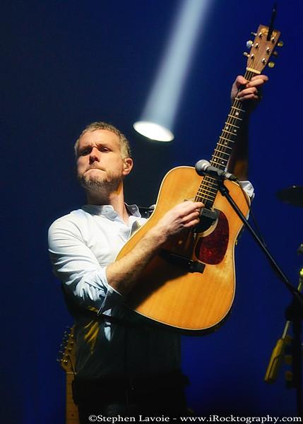Ben Parker, on guitar