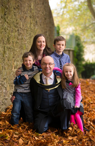 02/11/2018. Waterford Institute of Technology (WIT) Conferring Ceremonies 2018. Pictured are Joe Williams Mitchelstown with Lisa, Darragh, Ronan and Aoife. Picture: Patrick Browne