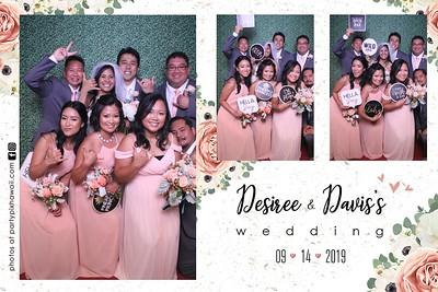 Davis & Deserie's Wedding (Magic Mirror Photo Booth)
