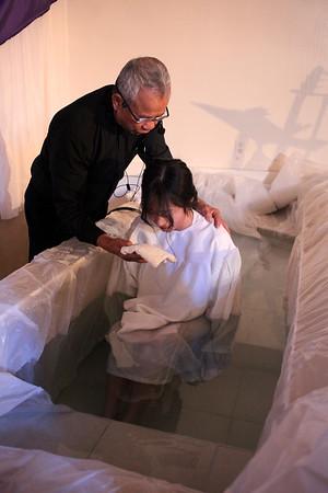 2016 Christmas Sunday + Baptism