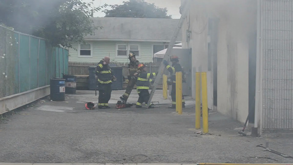Massapequa F.D. Building Fire 632 Broadway 7-15-12