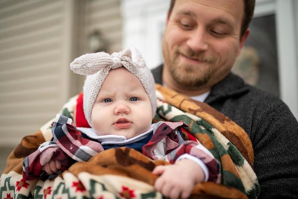 Weber | Fond du Lac Winter Family Photography