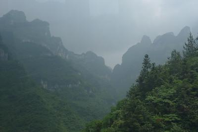 Tianmen Mountain 天门山