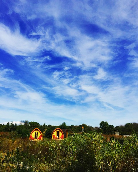 We_re_glamping_this_weekend__No_joke__We_re_at_Long_Point_Eco-adventures_overnight_in_these_cute_pods._Today_foraging_for_mushrooms_with__robin_tapley_then_dinner_across_the_street_at_Burning_Kiln_Winery..jpg