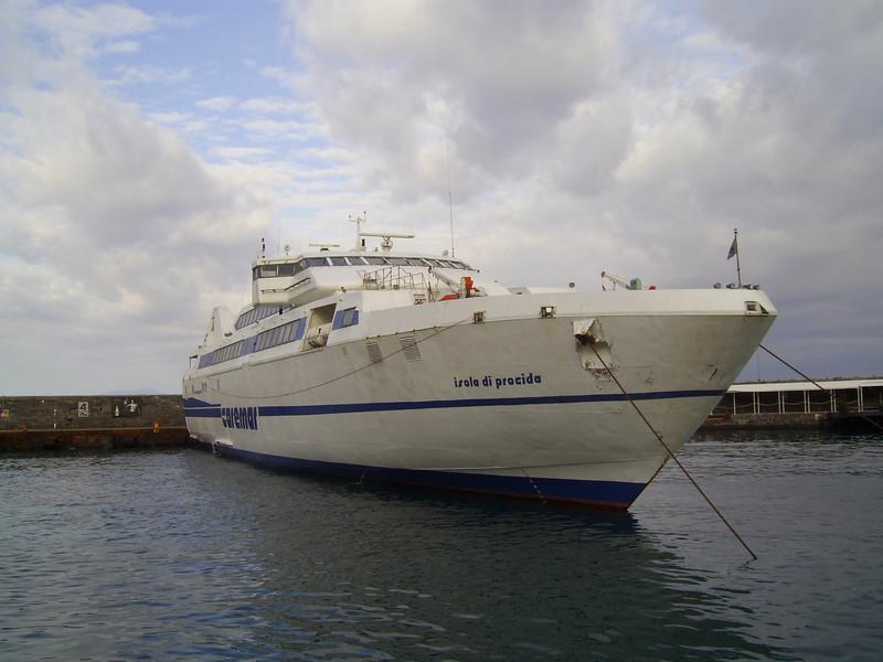 2008 - HSC ISOLA DI PROCIDA in Capri.