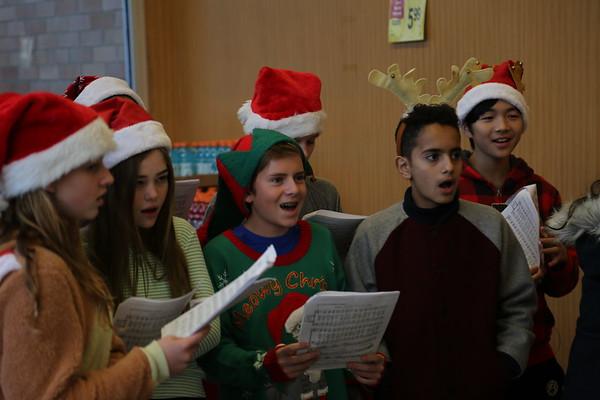MS Christmas Caroling