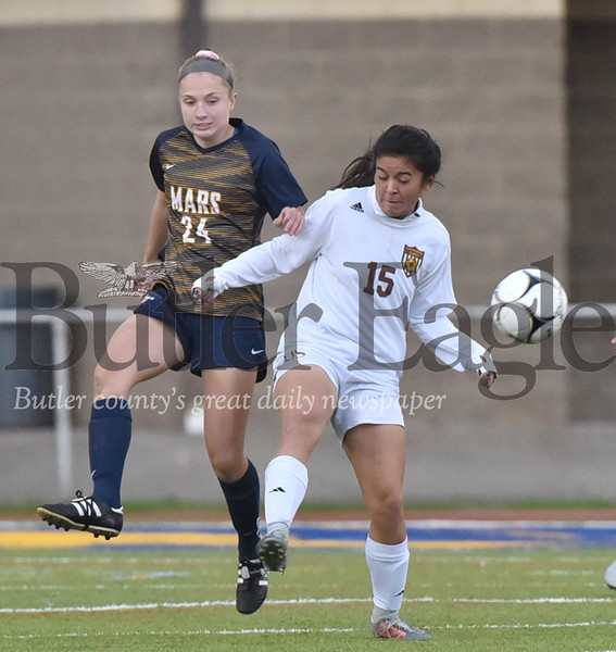 43010 Mars vs Greensburg Salem WPIAL Class 3A Girls Soccer  first round playoff game at Mars Athletic Complex