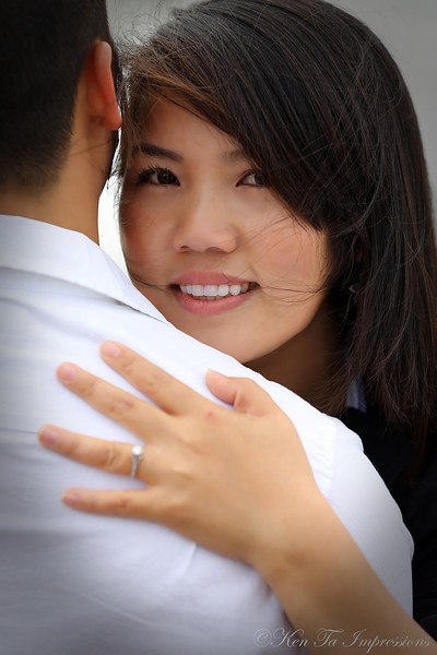 Sample - Engagement Portrait -Huyen & Quan (Part I)