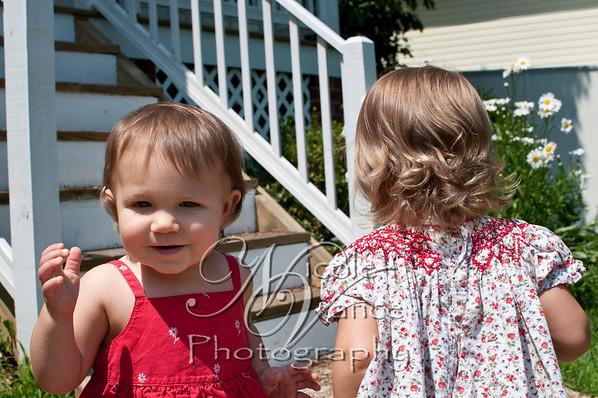 darian & natalie outside
