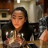 2018-01-22 Elise 17th Birthday V(17) Cake Caleb
