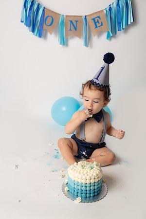 Ralph's 1st Birthday Cake Smash