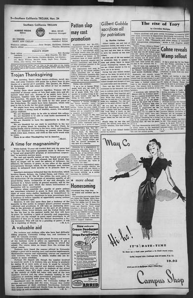 The Trojan, Vol. 35, No. 54, November 24, 1943