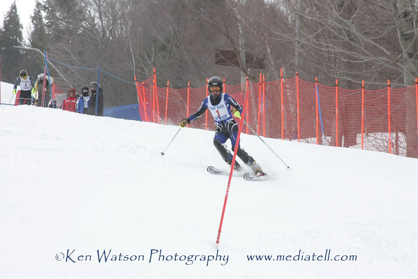 02-08-2010 Boys Div IV Slalom at Loon Second Run