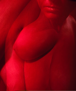 """Red/red 1"" (photography) by Genea Barnes"