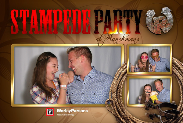 Worley Parsons Stampede Party 2013 Booth 1