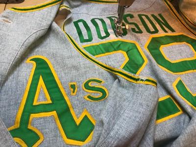 Restoration: Oakland A's flannels & knit jerseys