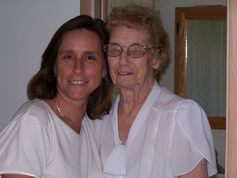 Laurie and Aunt Amelia