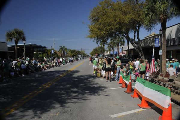 St Patricks Parade 2011 Megomalleys