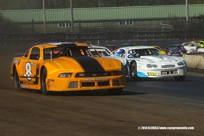 Super DIRT Week XLIII - 10/12/14 DIRTcar Pro Stock Series Championship- Rebecca Eisele