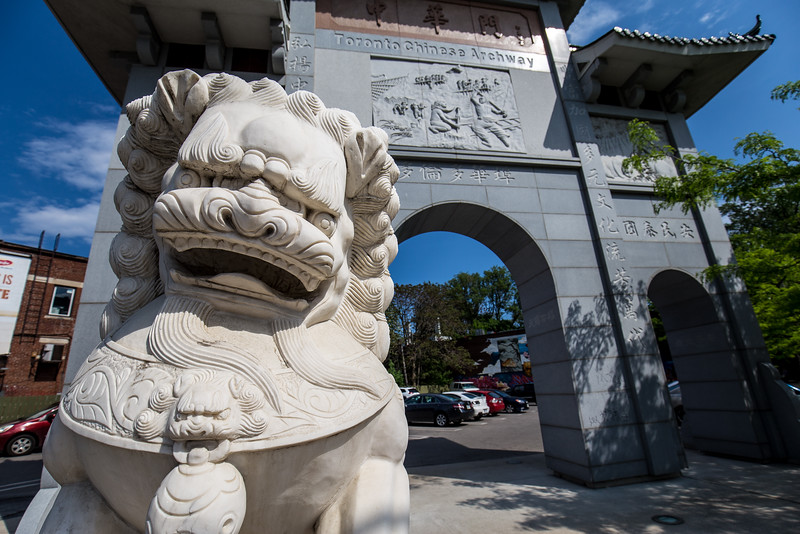 The Toronto Chinese Archway