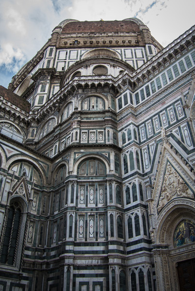 Construction took over 800 years