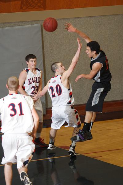 RCS Varsity Boys' Basketball vs Realm - Dec 4, 2013
