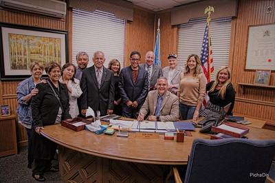 "Informal Sister City Presentation to Jesús ""Jerry"" Márquez, Mayor of Luquillo - June 6,2017"