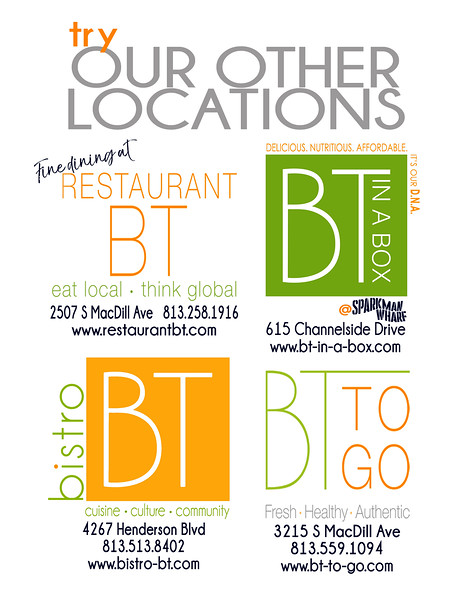 BT 4 LOCATIONS SHEET