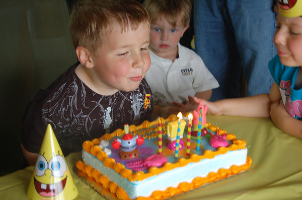 Parker's  5th b-day 2010