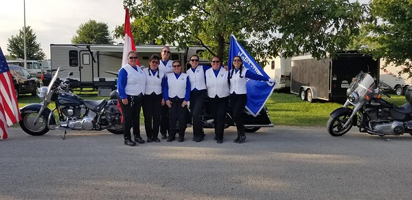 19-07-19 Wauseon Flat Track Races Opening Parade of Colors 2019
