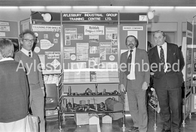Careers Convention at Sir Henry Floyd Grammar School, May 1987