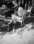 1937, Olvera St. Shoemaker