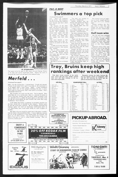Daily Trojan, Vol. 62, No. 81, March 04, 1971