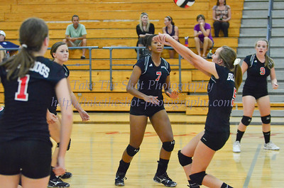 2013-09-10 BHS Volleyball VS Porter Ridge