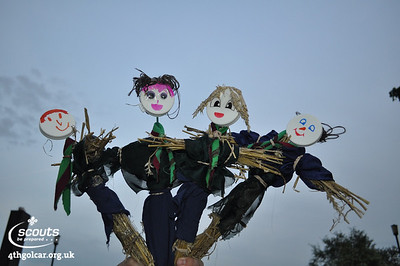 May - Making Scarecrows!