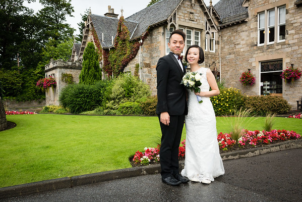 Perthshire Registry Office Wedding Photography