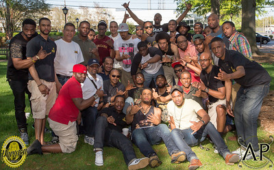 Nu Theta Chapter Reunion Cookout - ODU - APHIA