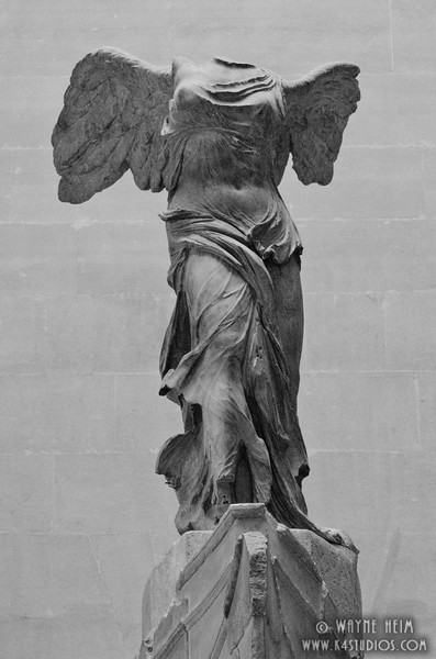 Winged Victory - Black & White Photography of Wayne Heim