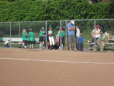 2014 U8 Softball Green Frogs