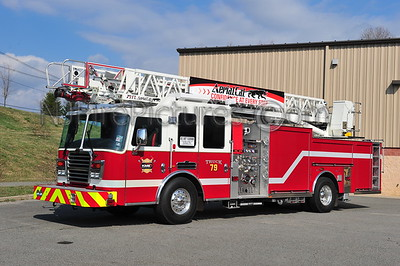 DEMONSTRATOR FIRE APPARATUS