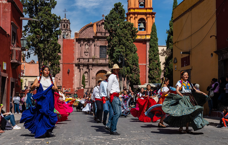 Revolution day in San Miguel de Allende